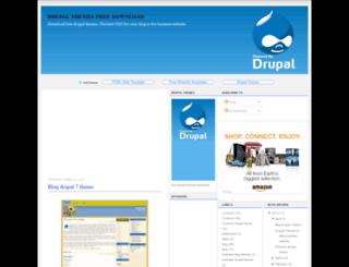 free-drupal-themes.blogspot.com screenshot