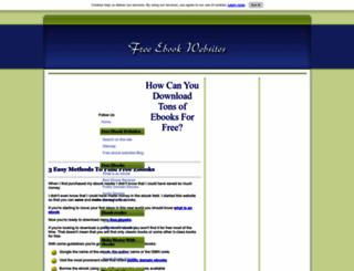 free-ebook-websites.com screenshot
