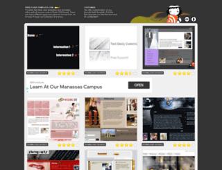 free-flash-template.com screenshot