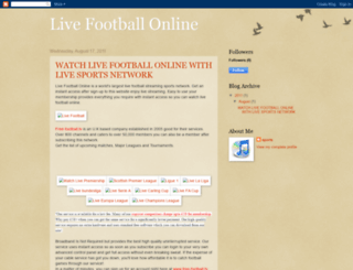 free-football-tv.blogspot.com screenshot