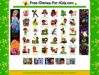 free-games-for-kids.com screenshot
