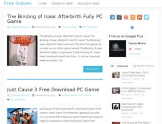 free-games.pk screenshot