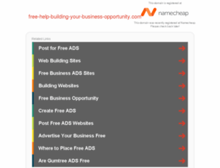 free-help-building-your-business-opportunity.com screenshot