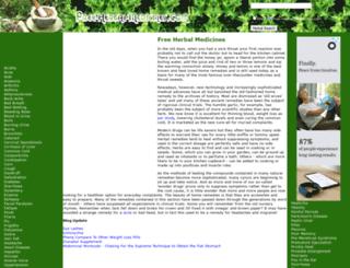 free-herbal-medicines.com screenshot