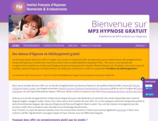 free-hypnosis-mp3.com screenshot
