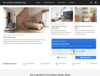 free-interior-decorating-ideas.com screenshot