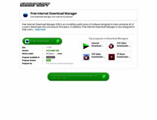 free-internet-download-manager-idm.secursoft.net screenshot