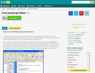 free-javascript-editor.soft112.com screenshot