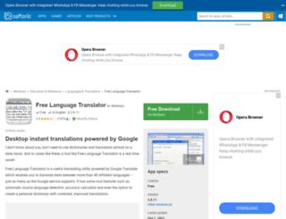 free-language-translator.en.softonic.com screenshot