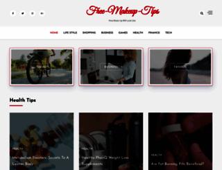 free-makeup-tips.com screenshot