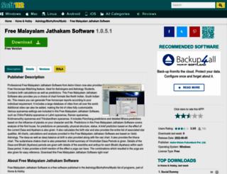 free-malayalam-jathakam-software.soft112.com screenshot