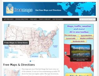 free-maps.net screenshot