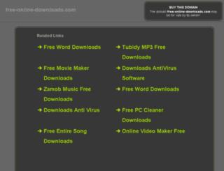 free-online-downloads.com screenshot