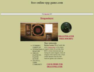 free-online-rpg-game.com screenshot