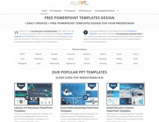 free-powerpoint-templates-design.com screenshot