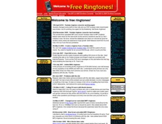 free-ringtones.ie screenshot