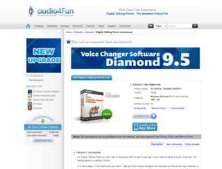 free-screensaver.audio4fun.com screenshot