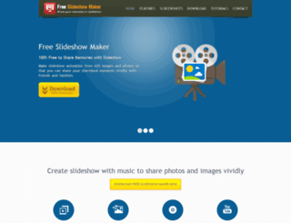 free-slideshow-maker.com screenshot