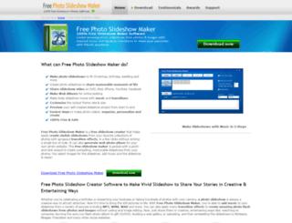 free-slideshow-maker.net screenshot