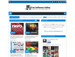 free-softwares-gallery.blogspot.com screenshot