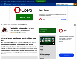 free-spider-solitaire-2012.softonic.fr screenshot