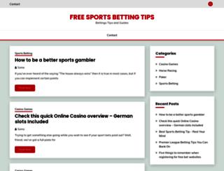 free-sports-betting-tips.com screenshot