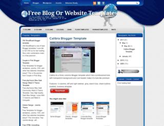 free-templatezz.blogspot.com screenshot