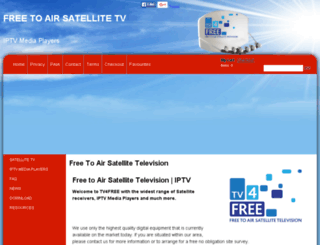 free-to-air-satellite-tv.co.za screenshot