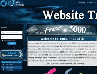 free-traffic-exchange.eu screenshot