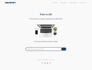 free-tv.dk screenshot