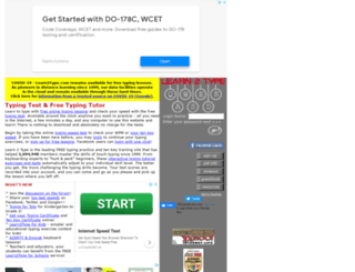 free-typingtest.info screenshot
