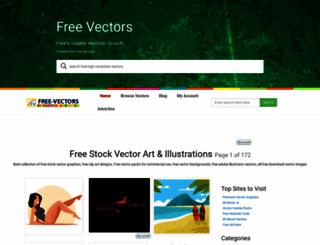 free-vectors.com screenshot
