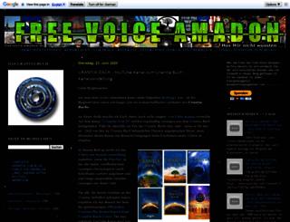 free-voice-amadon.blogspot.com screenshot