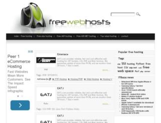 free-web-hosting.itbaza.com screenshot
