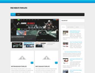 free-webs-template.blogspot.com screenshot