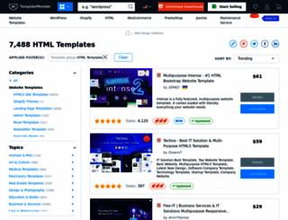 free-website-template.net screenshot