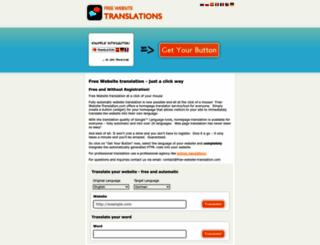 free-website-translation.com screenshot