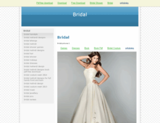 free.bridal-shower-themes.com screenshot