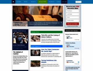 free.messianicbible.com screenshot