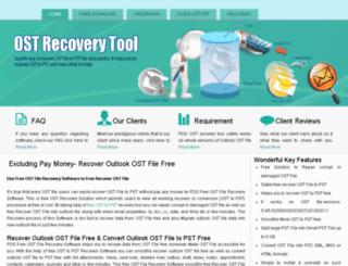 free.recoverostfile.org screenshot