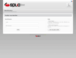 free.splio.com screenshot