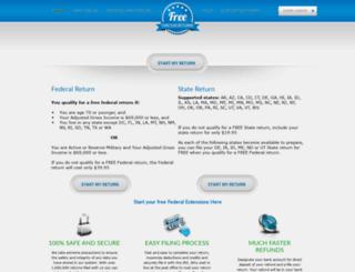 free2u.free1040taxreturn.com screenshot