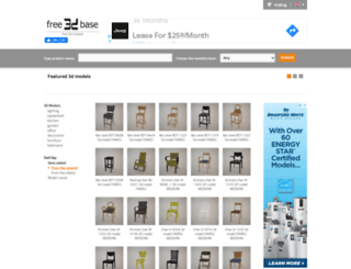 free3dbase.com screenshot
