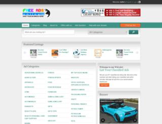 freeaddsonline.com screenshot