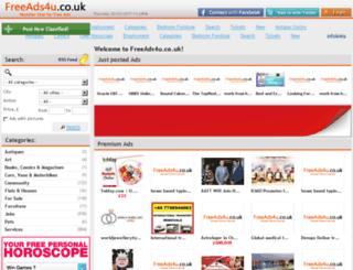 freeads4u.co.uk screenshot