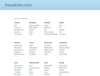 freeads4u.com screenshot