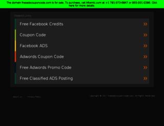 freeadscouponcode.com screenshot