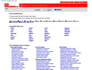 freeadsinireland.com screenshot