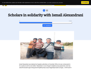freealexandrani.wesign.it screenshot