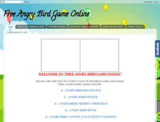 freeangrybirdgameonline.blogspot.com screenshot